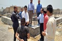 پایان بازسازی ۱۵۰۰ واحد مسکونی سیل زدگان حمیدیه تا پایان ماه جاری