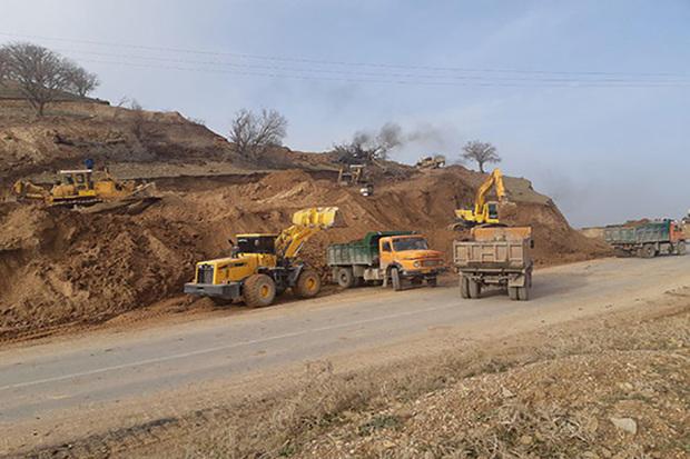 محور خلخال - کلور - طارم 5 میلیون متر مکعب خاکبرداری دارد