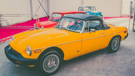 تصاویر خودروهای کلاسیک اروپایی در نمایشگاه خودرو تهران