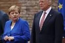کاخ سفید: روابط ترامپ و مرکل بصورت باورنکردنی خوب است