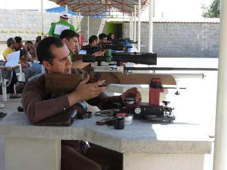 برگزاری مسابقات منطقه ای  تیراندازی بنچ رست تفنگ بادی در بندرترکمن