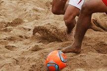 مسابقه تیم های فوتبال ساحلی ایفاسرام اردکان و بندرعباس برگزار نشد