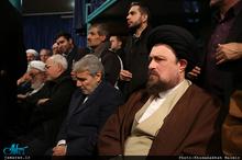 مراسم وداع با پیکر آیت الله هاشمی رفسنجانی(ره) در حسینیه جماران-2