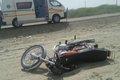 برخورد سواری جان 3 راکب موتورسیکلت را گرفت