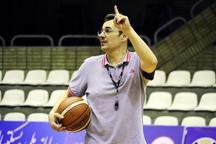 کلاس مربیگری بسکتبال توسط مربی صربستانی در رشت برگزار شد
