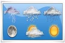 پیش بینی هوای ابری با بارش پراکنده برای مازندران درعید فطر