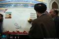 مراسم رونمایی از تمبر یابود شهید فهمیده و ۳۶ هزار شهید دانش آموز با حضور یادگار امام