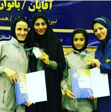 بانوان تکواندوکار جیرفتی در مسابقات کشوری خوش درخشیدند