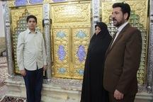 خدمت خانوادگی در امامزاده سید احمد مرند