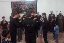 مراسم عزاداری سالروز شهادت حضرت فاطمه زهرا(س) در مهاباد برگزار شد