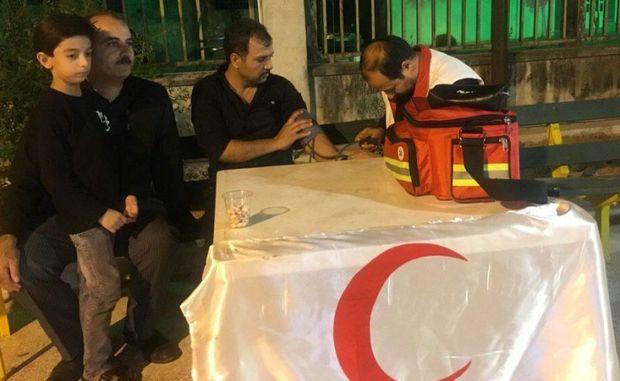 خدماتدهی به ۵۲ حادثهدیده تاسوعا و عاشورای حسینی در یزد