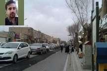 روزهای ناخوش این روزهای خیابان تاریخی قیام یزد از نگاه تابناک