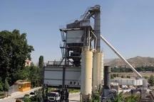 کارخانه آسفالت 160 تنی تمام اتوماتیک شهرداری تبریز این هفته به بهره برداری میرسد