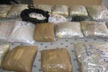 کشف یک تن و 536 کیلوگرم مواد مخدر در سیستان و بلوچستان