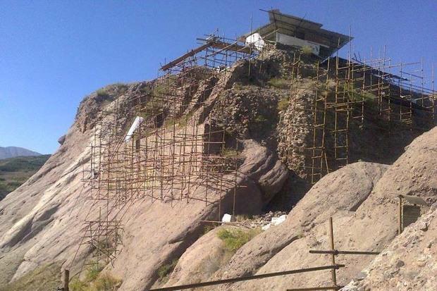 بازدید گردشگران از قلعه حسن صباح الموت به طور موقت متوقف شد