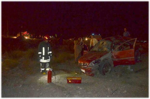 واژگونی خودرو در غرب سبزوار یک کشته داشت