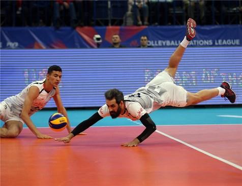 جدول رده بندی لیگ ملت های والیبال + برنامه مسابقات ایران در هفته چهارم