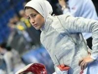 کسب امتیاز بانوی شمشیرباز گیلانی در رقابتهای جهانی جایزه بزرگ مسکو