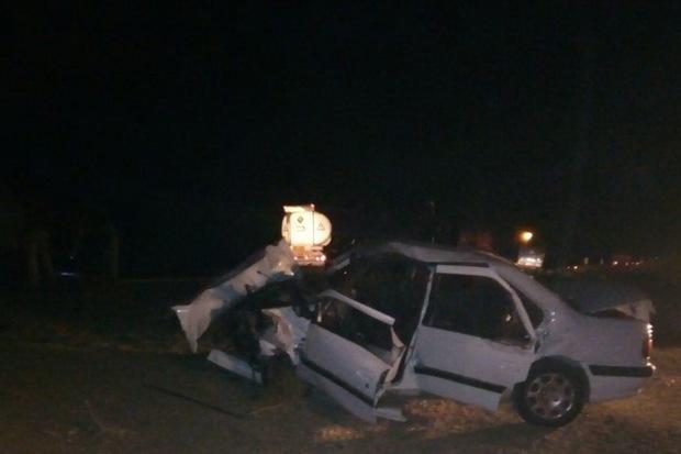 حادثه رانندگی در پارس آباد سه کشته برجای گذاشت
