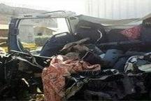 مرگ راننده کامیون به دلیل تصادف با قطار تهران-مشهد