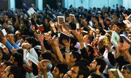 مراسم احیا شب نوزدهم در حرم حضرت عبدالعظیم(ع) برگزار شد