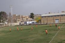 تیم فوتبال آلومینیوم اراک یک بر صفر سنگ آهن بافق را شکست داد