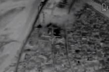 دومین فیلم از لحظه اصابت موشکهای نقطهزن سپاه به مقر داعشی ها در سوریه