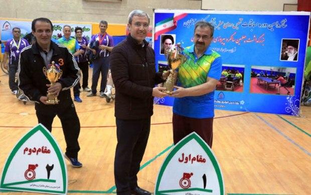 مشهد قهرمان رقابتهای کشوری پاراتنیس روی میز شد