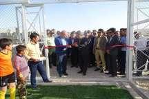 2 پروژه ورزشی در شهرستان خنج به بهره برداری رسید