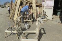 تولید آثار چوبی روستا سمقاور 88 هزار مترمربع در سال است