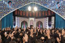 عکس/ حضور رییس انجمن موبدان زرتشتی تهران در مراسم عزاداری اباعبدالله(ع)