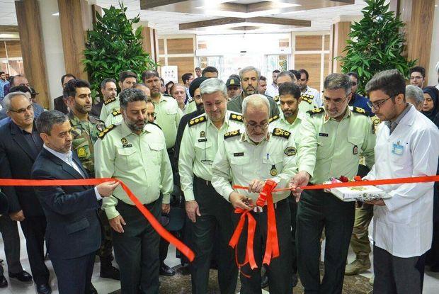 بیمارستان منطقهای حضرت ابوالفضل (ع) ناجا در کرمانشاه افتتاح شد