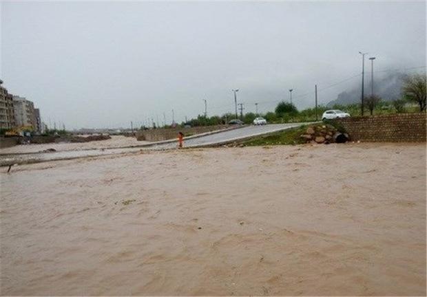 تازه ترین گزارش از سیلاب در شهرستانهای چهارمحال و بختیاری