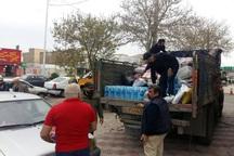 کمک های جامعه ورزشی قزوین به استان لرستان ارسال شد