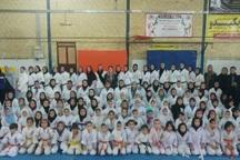 نفرات برتر کاراته دختران خردسال فارس شناخته شدند