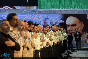 تجدید میثاق جمعی از فرماندهان ناجا با آرمانهای بنیانگذار انقلاب اسلامی