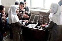 دانش آموزان 273 کلاس اسفراین با بخاری چکه ای گرم می شوند
