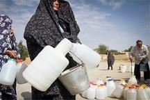 بحران آب در روستاهای بستان آباد  آب روستائیان با تانکر تامین می شود