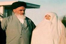 شعر امام خمینی برای بانو خدیجه ثقفی