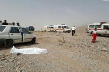 واژگونی خودرو در بجستان یک کشته داشت