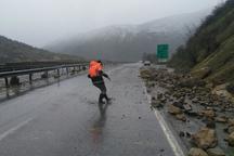 خطر رانش کوه در شهرستان سوادکوه وجود دارد