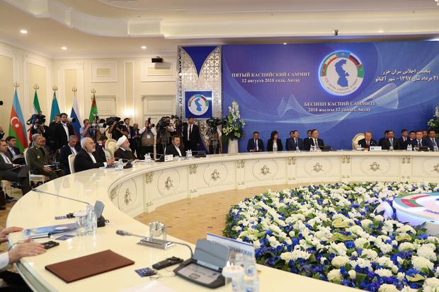 امضای شش سند همکاریهای راهبردی و اقتصادی میان سران ۵ کشور ساحلی دریای خزر