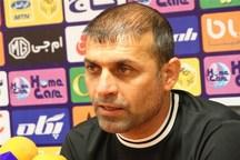 سرمربی استقلال خوزستان:به دنبال سه امتیاز بازی  مقابل پرسپولیس هستیم