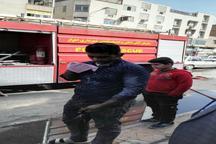 نجات جان سه نفر در حادثه آتش سوزی در اهواز