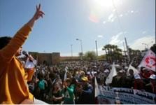 معلم های مراکشی بار دیگر در اعتراض به اوضاع معیشتی شان تظاهرات کردند