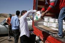اتاق اصناف مرکزی 6 کامیون کالا به مناطق سیل زده ارسال کرد