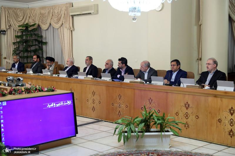 نخستین جلسه هیات دولت در سال 98