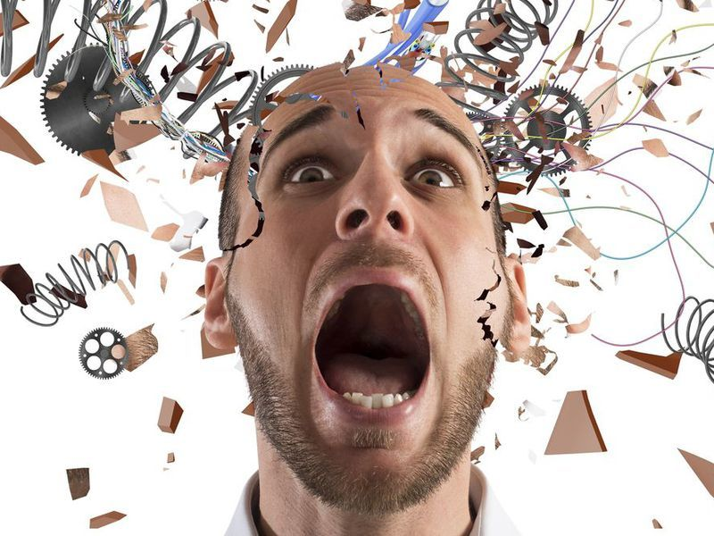 استرس مغز را تغییر می دهد