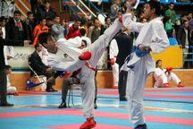 رشت قهرمان مسابقات کاراته استعدادهای برتر مردان گیلان شد