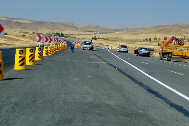تعریض 11.5 کیلومتر از جاده خوی ـ ائواوغلی بهره برداری شد